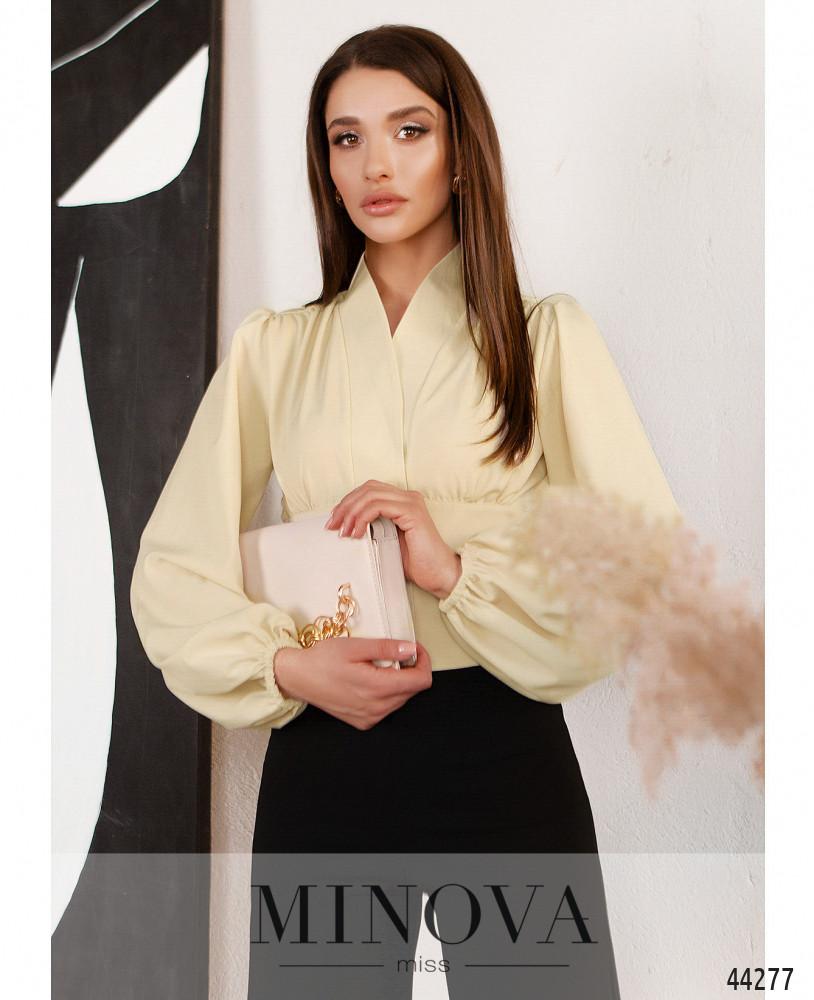 Блуза MA4136Н-бежевый (н)