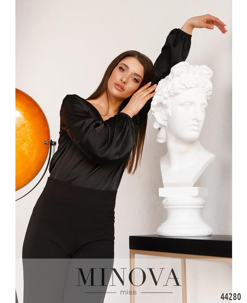 Блуза MA4137-чёрный (н)