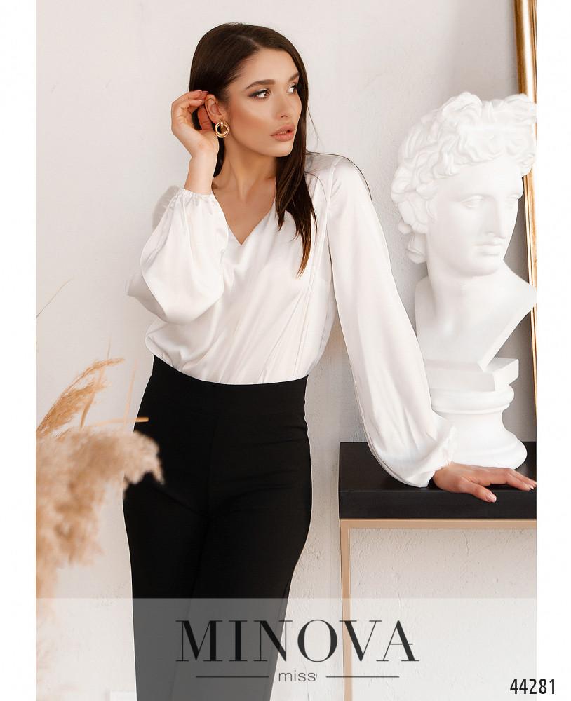 Блуза MA4137-белый (н)