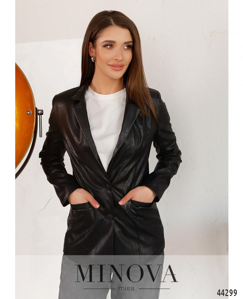 Пиджак MA2154-черный (н)