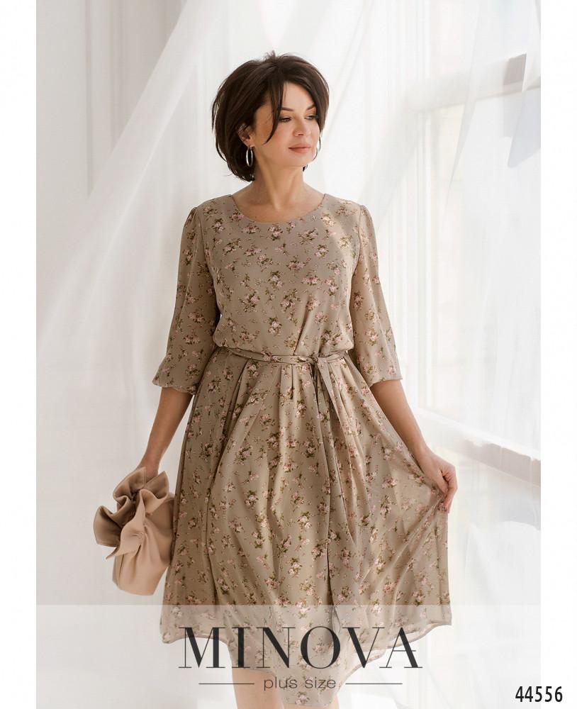 Платье MA20-08-мокко