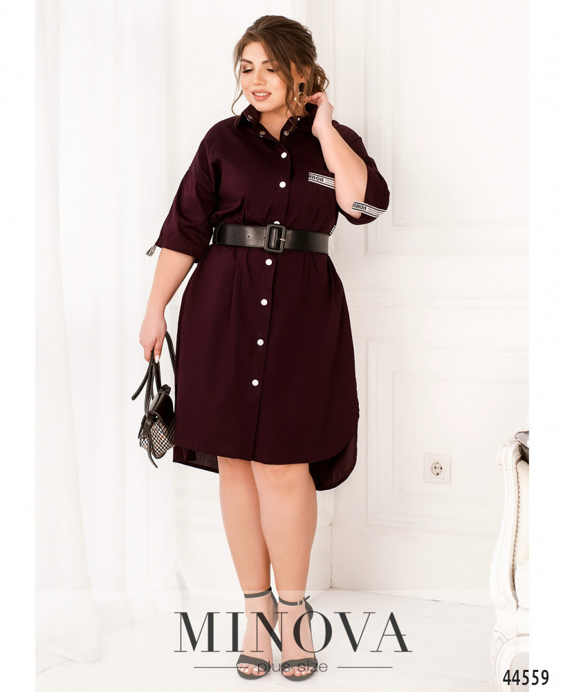 Платье MA186Б-марсала