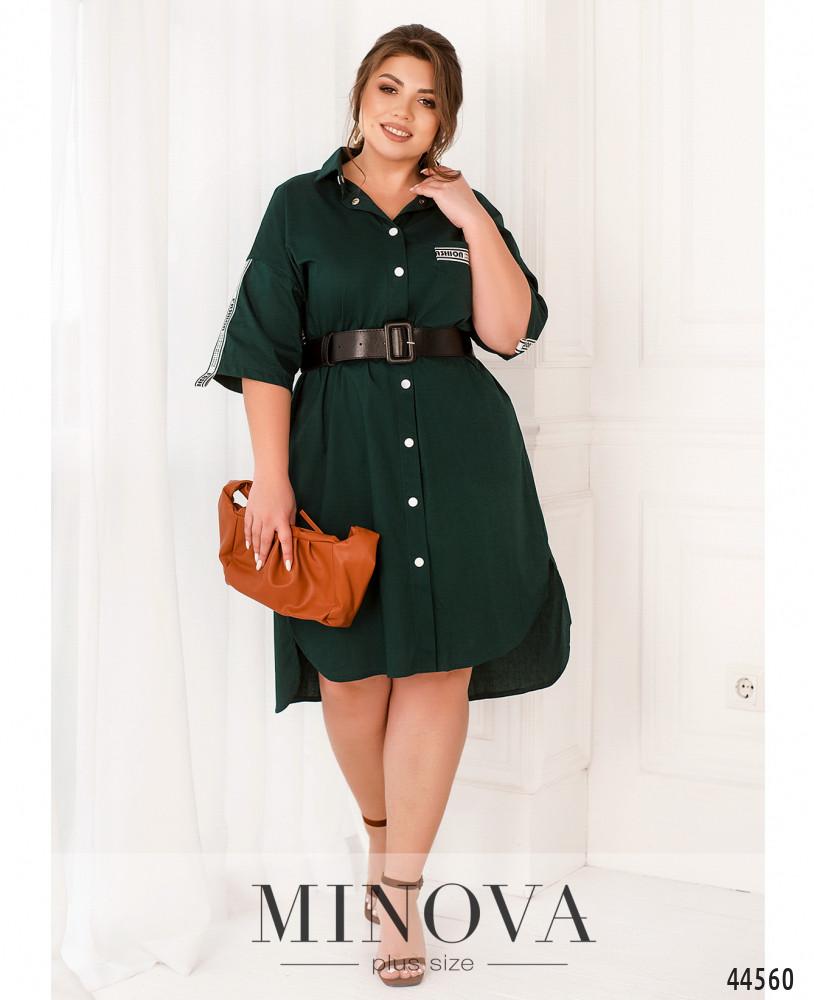 Платье MA186Б-темно-зеленый