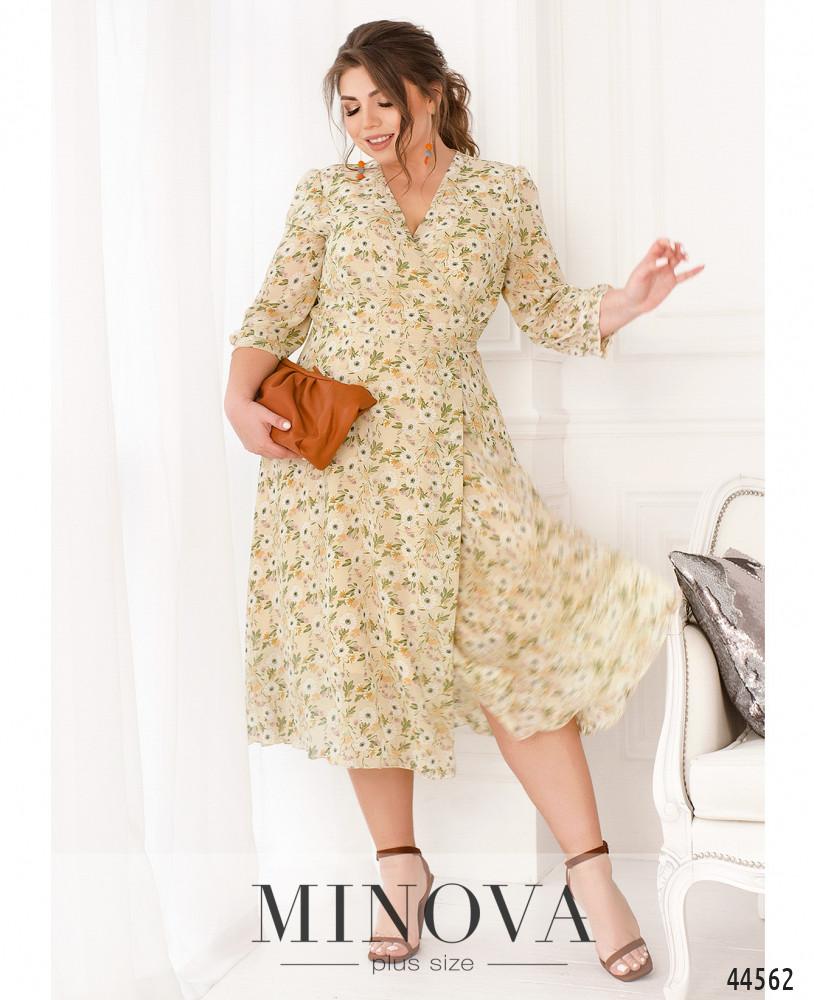 Платье MA21-07-светло-бежевый