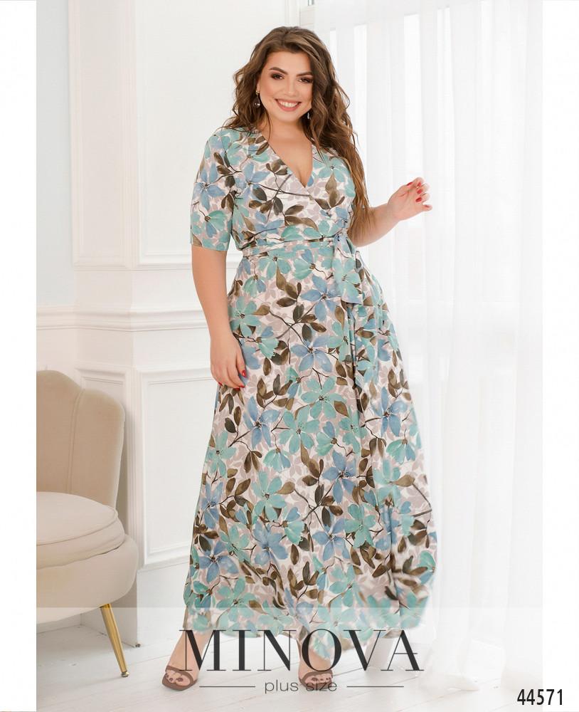 Платье MA22-01-бирюза