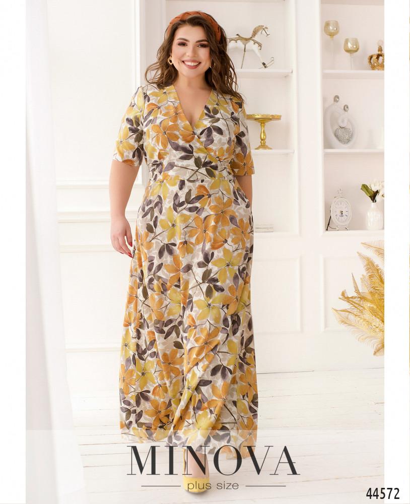 Платье MA22-01-горчица