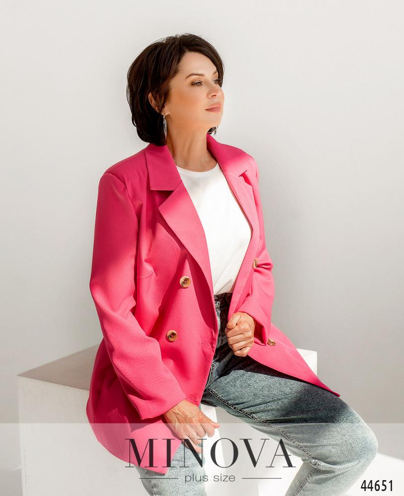Пиджак MA70156-1-малина
