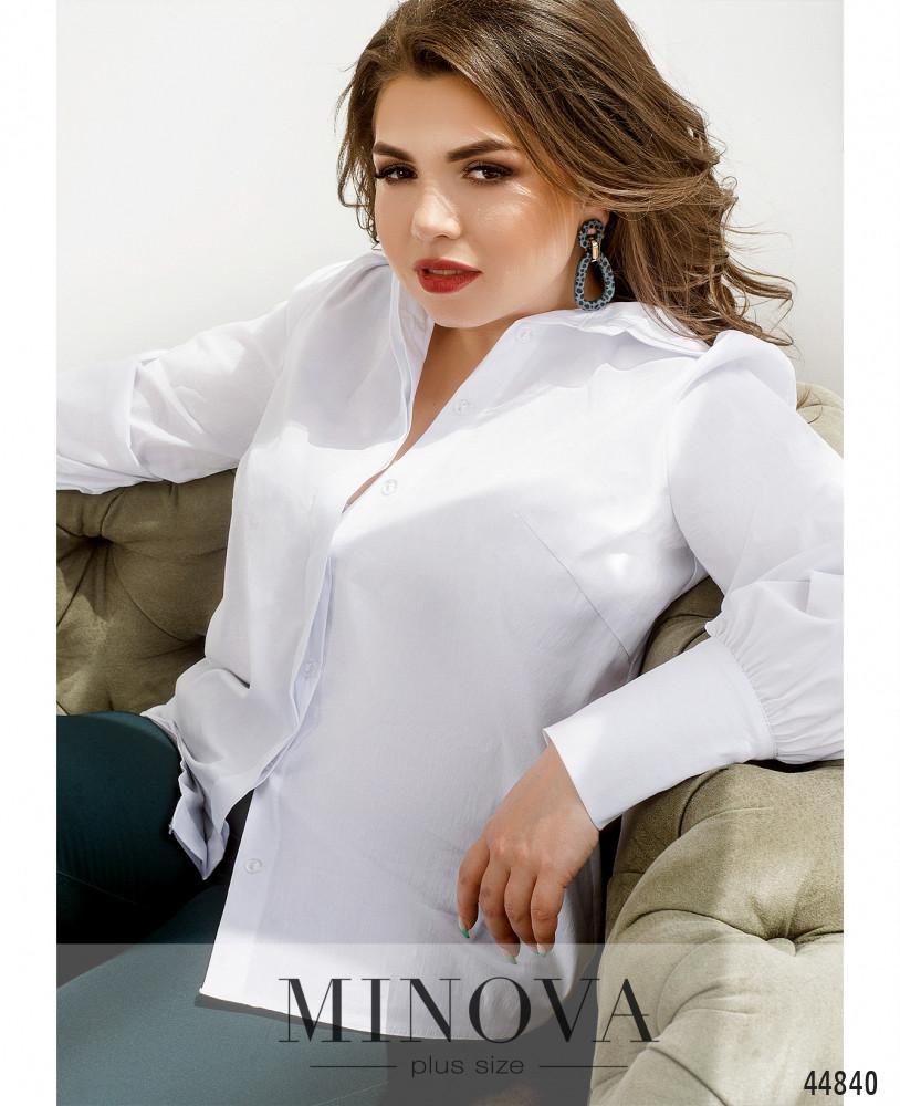 Рубашка MA4142-1Б-белый