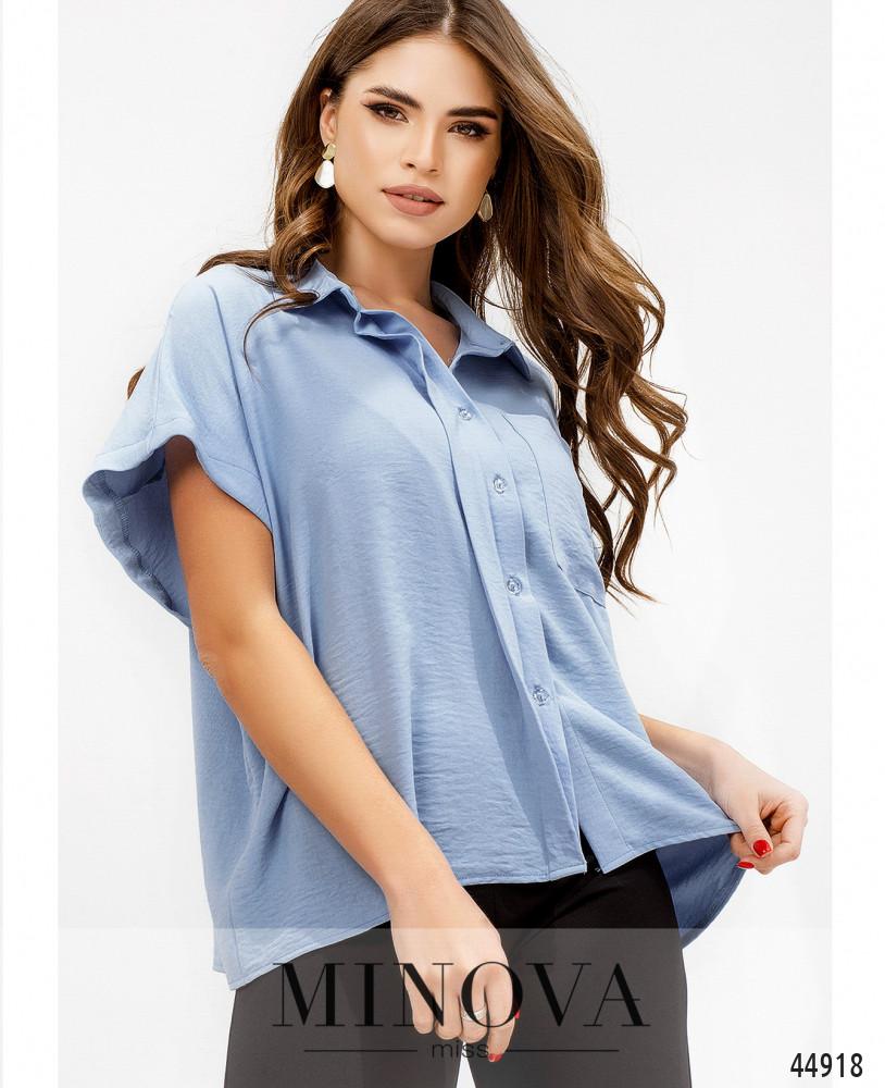Рубашка MA4140-голубой (н)