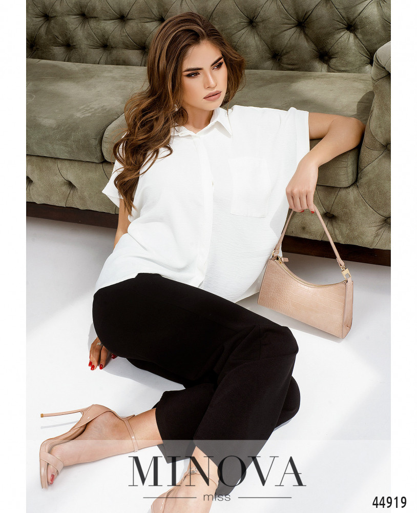 Рубашка MA4140-белый (н)