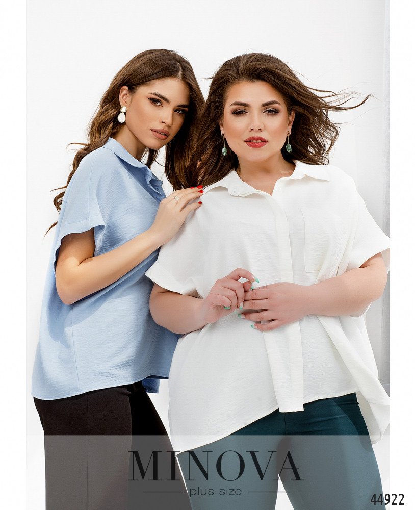 Рубашка MA4140Б-белый