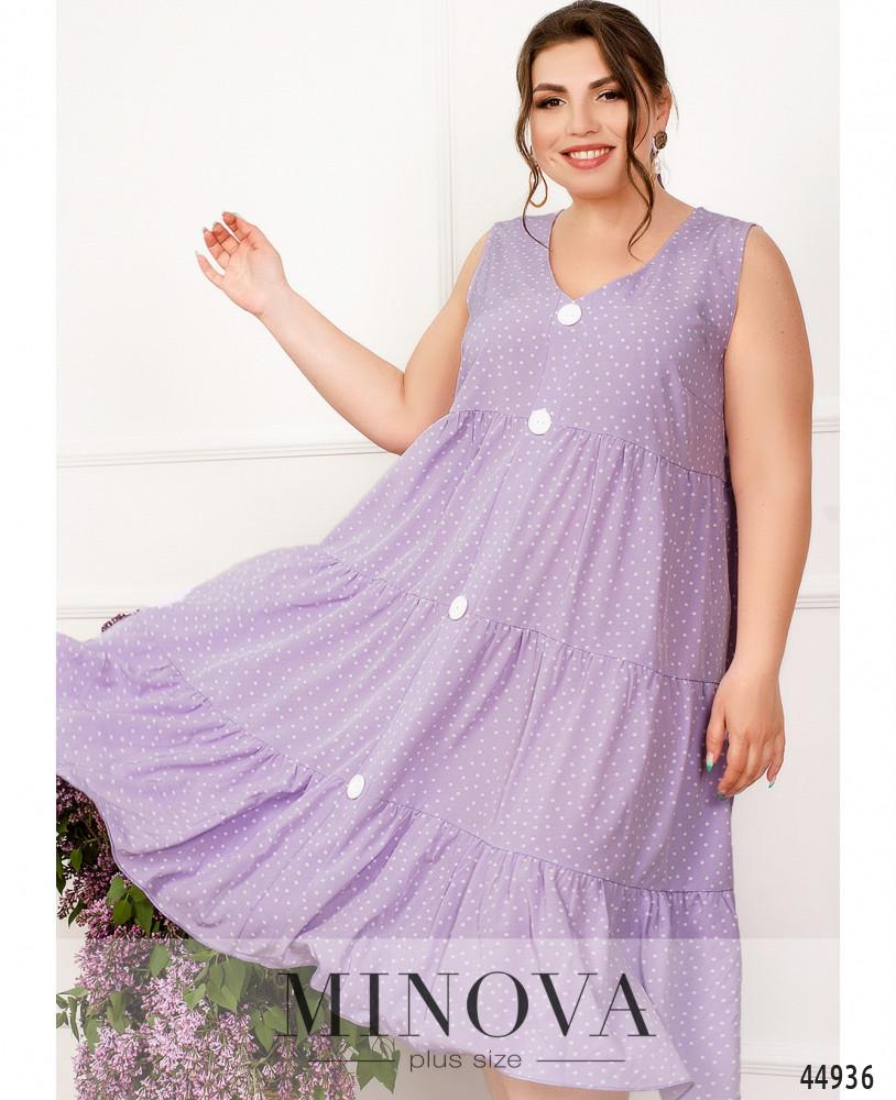 Платье MA1013-сиреневый