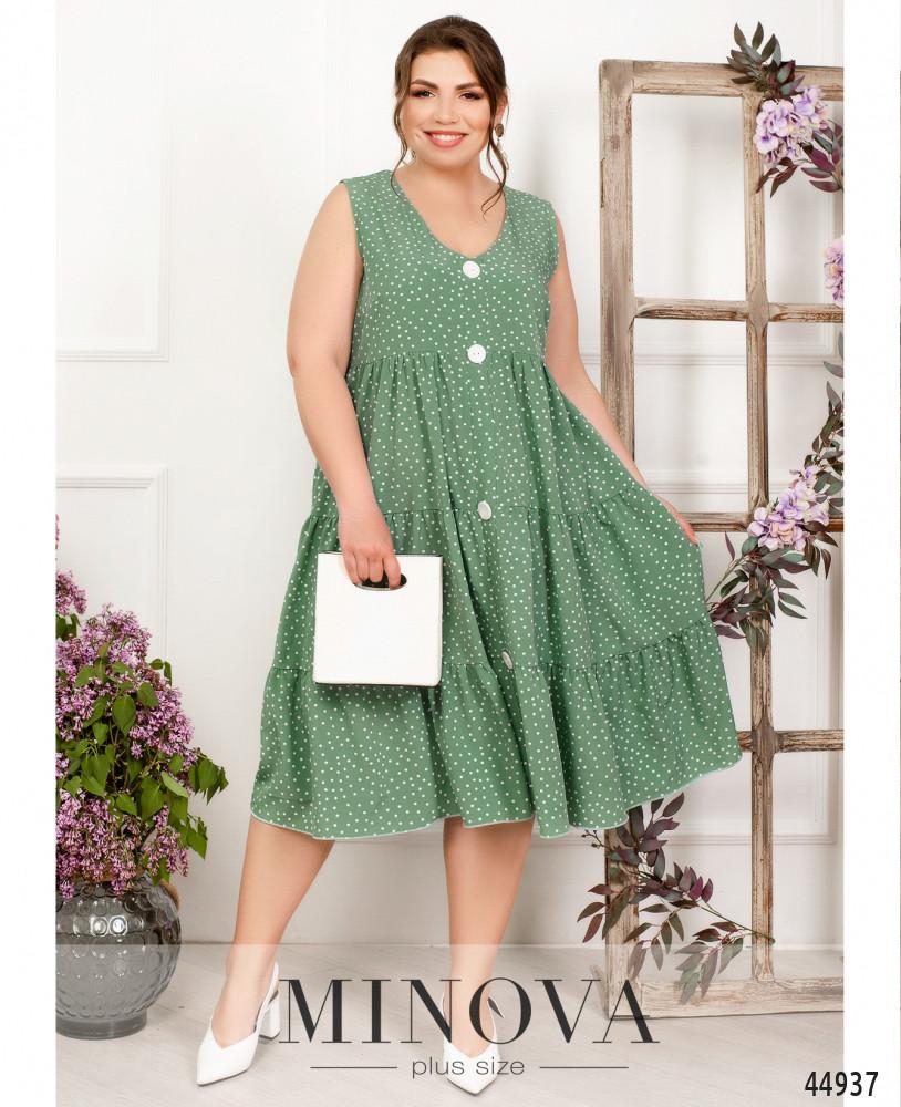 Платье MA1013-мята