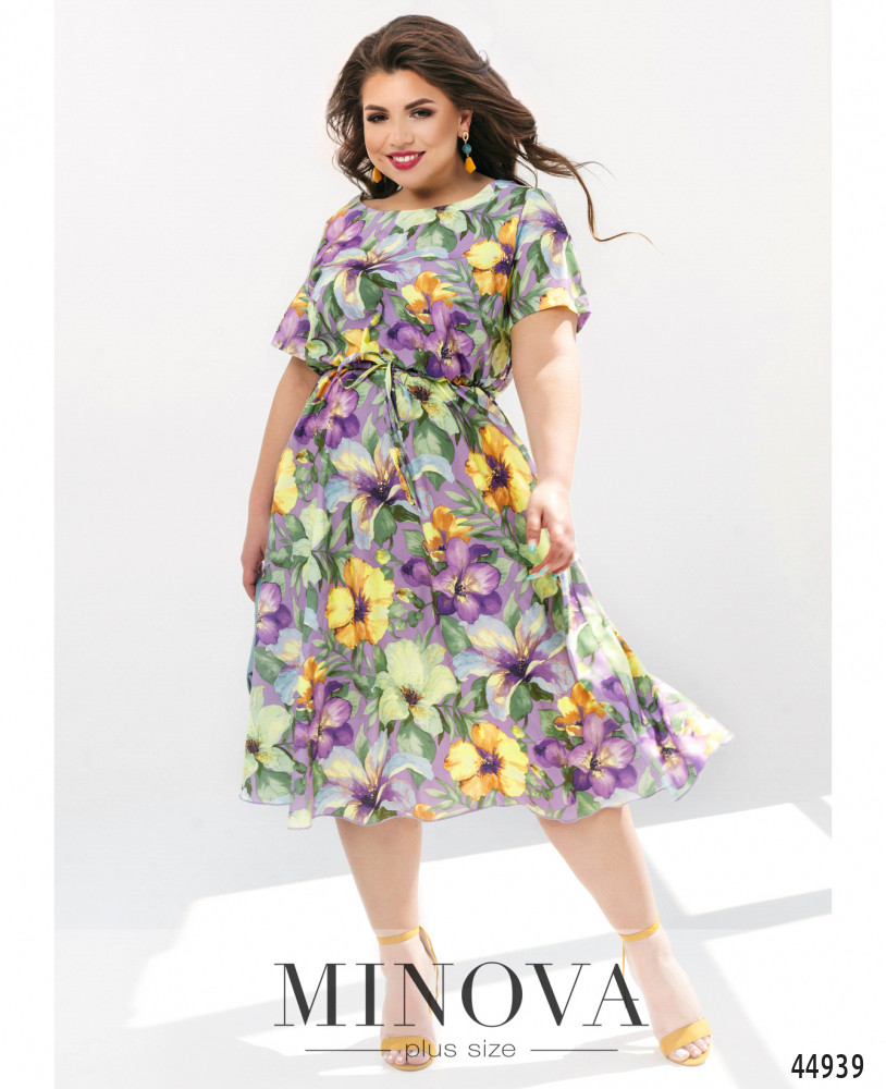 Платье MA1011-сиреневый