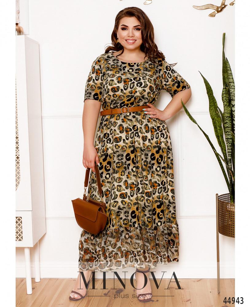 Платье MA21-10-сафари