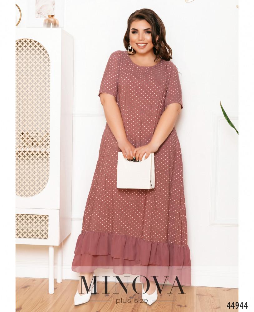 Платье MA21-10-фрезовый