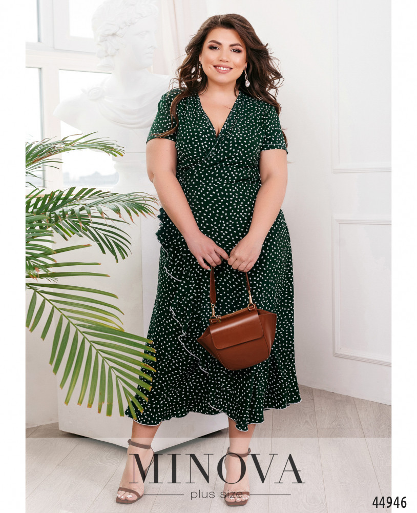 Платье MA164-зелёный