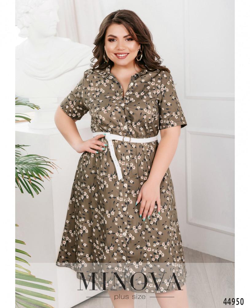 Платье MA1062-хаки