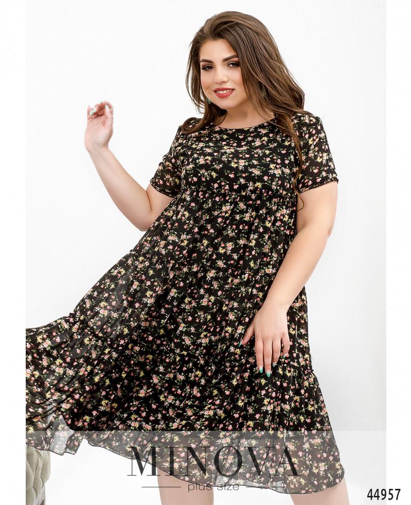 Платье MA8620-3Б-черный