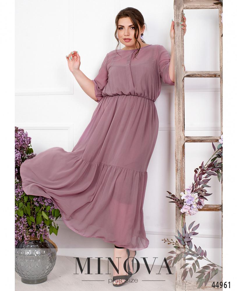 Платье MA70622-1-фрезовый