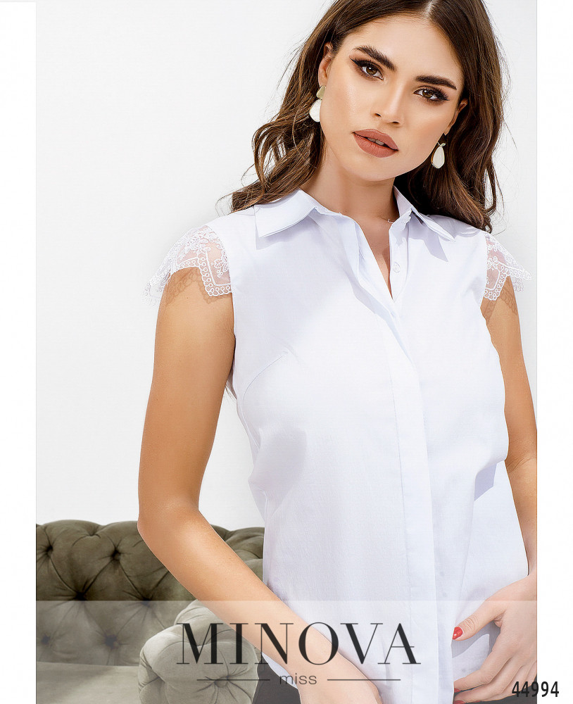 Блуза MA4142-белый (н)