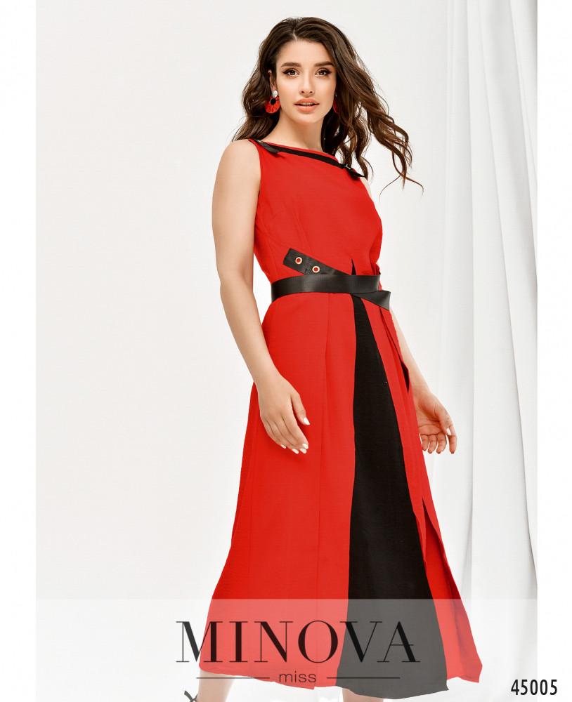 Платье MA4128-красный (н)