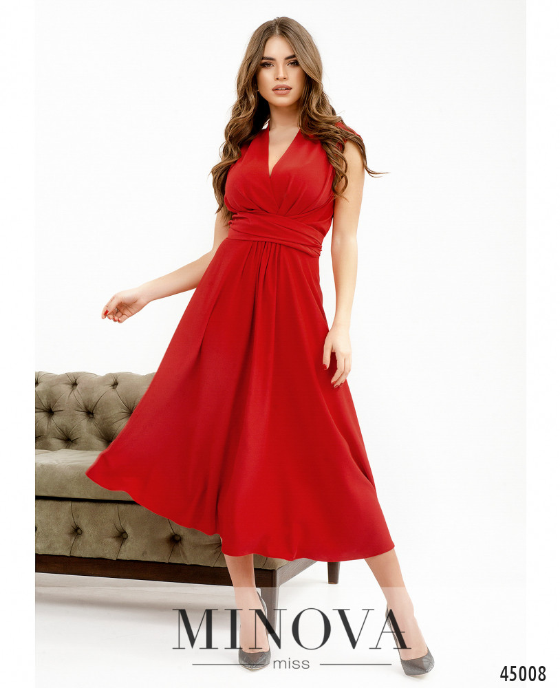 Платье MA1082-красный (н)