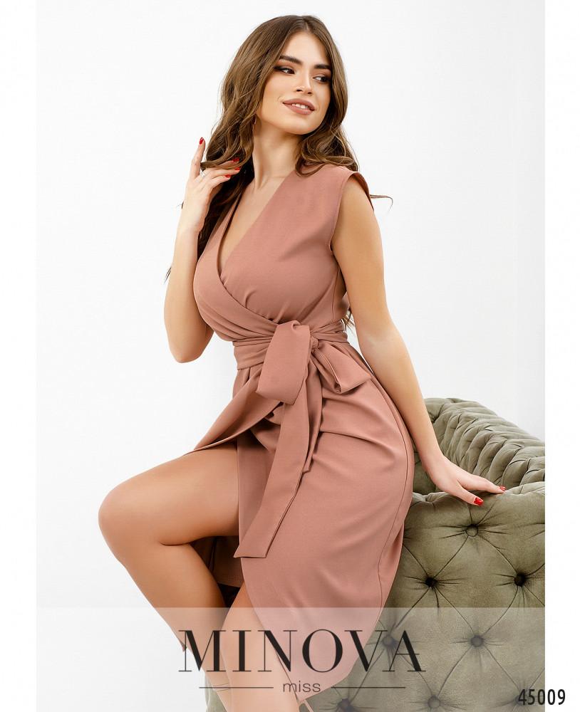 Платье MA1081-пудровый (н)