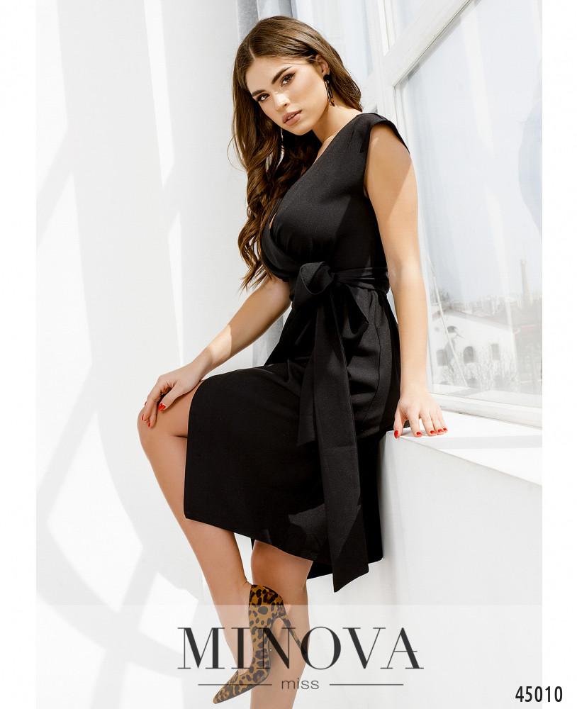 Платье MA1081-чёрный (н)