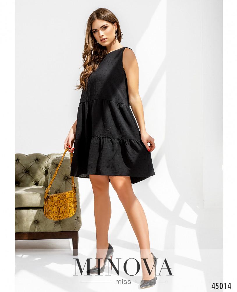 Платье MA4143-чёрный (н)