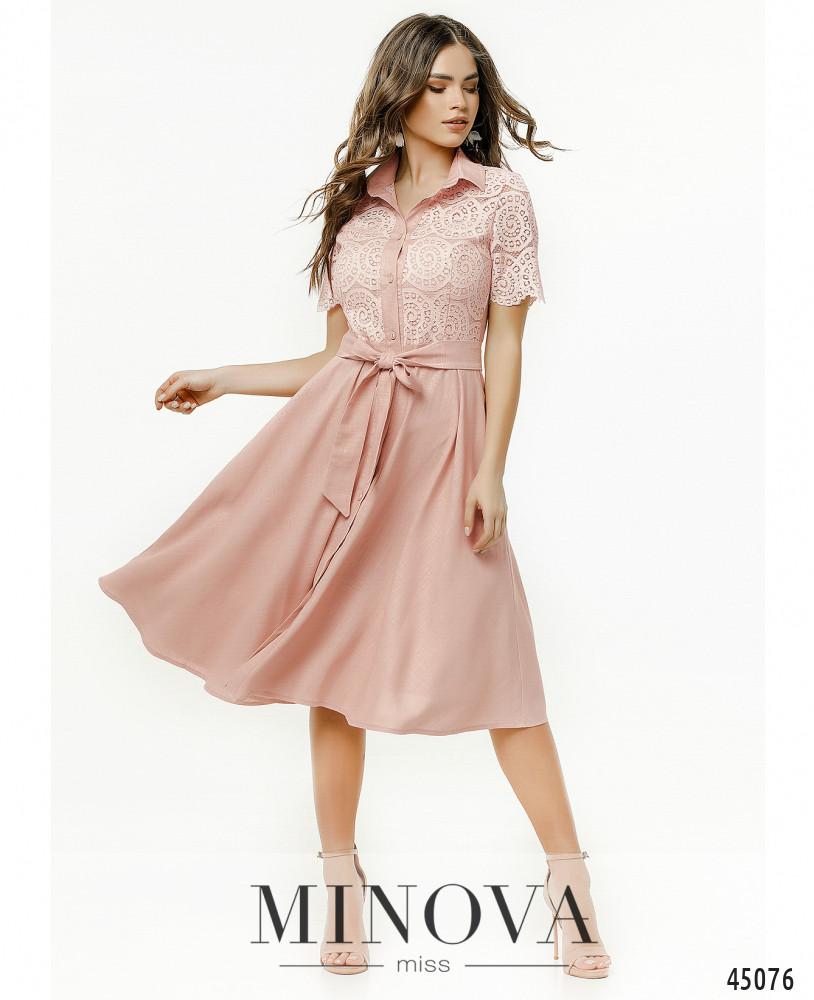 Платье MA2179-пудровый (н)