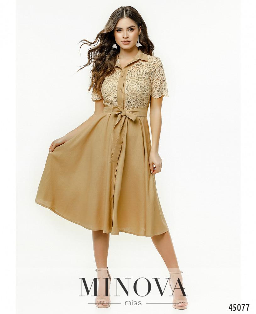 Платье MA2179-бежевый (н)