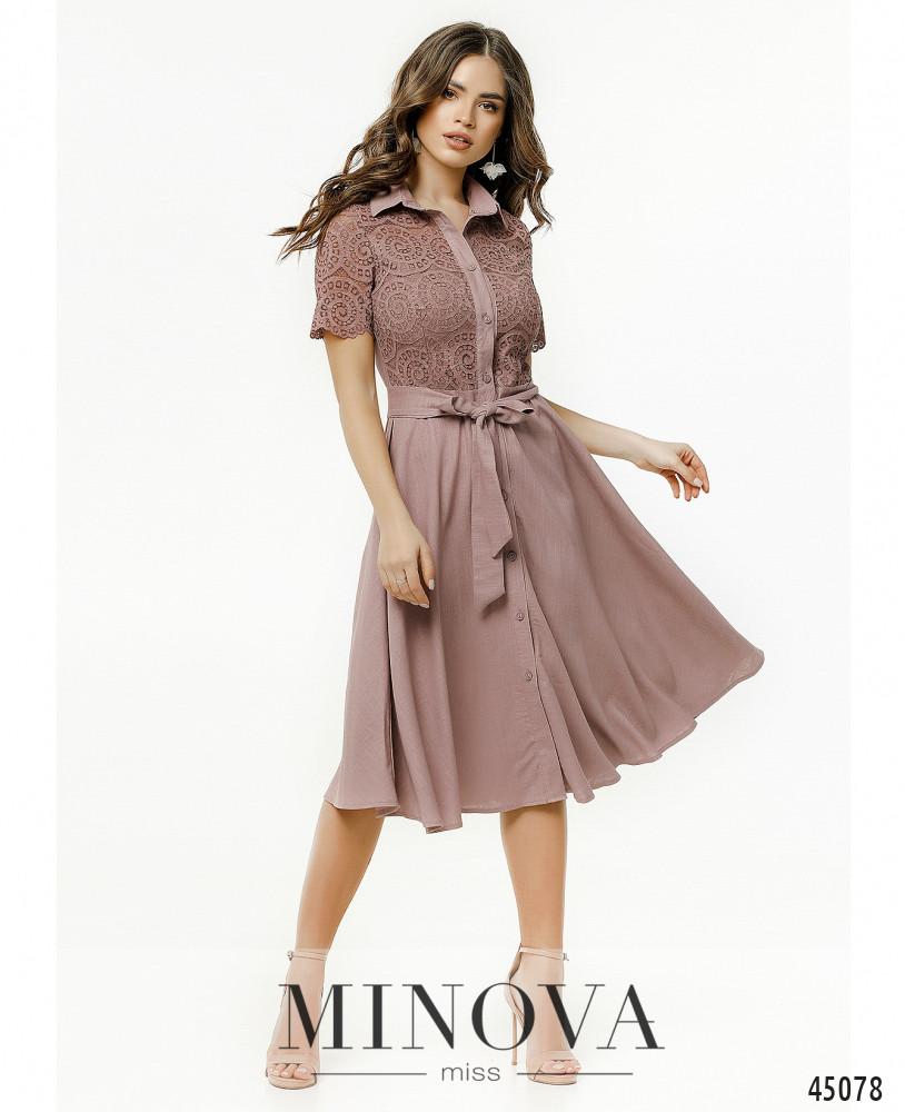 Платье MA2179-фрезовый (н)