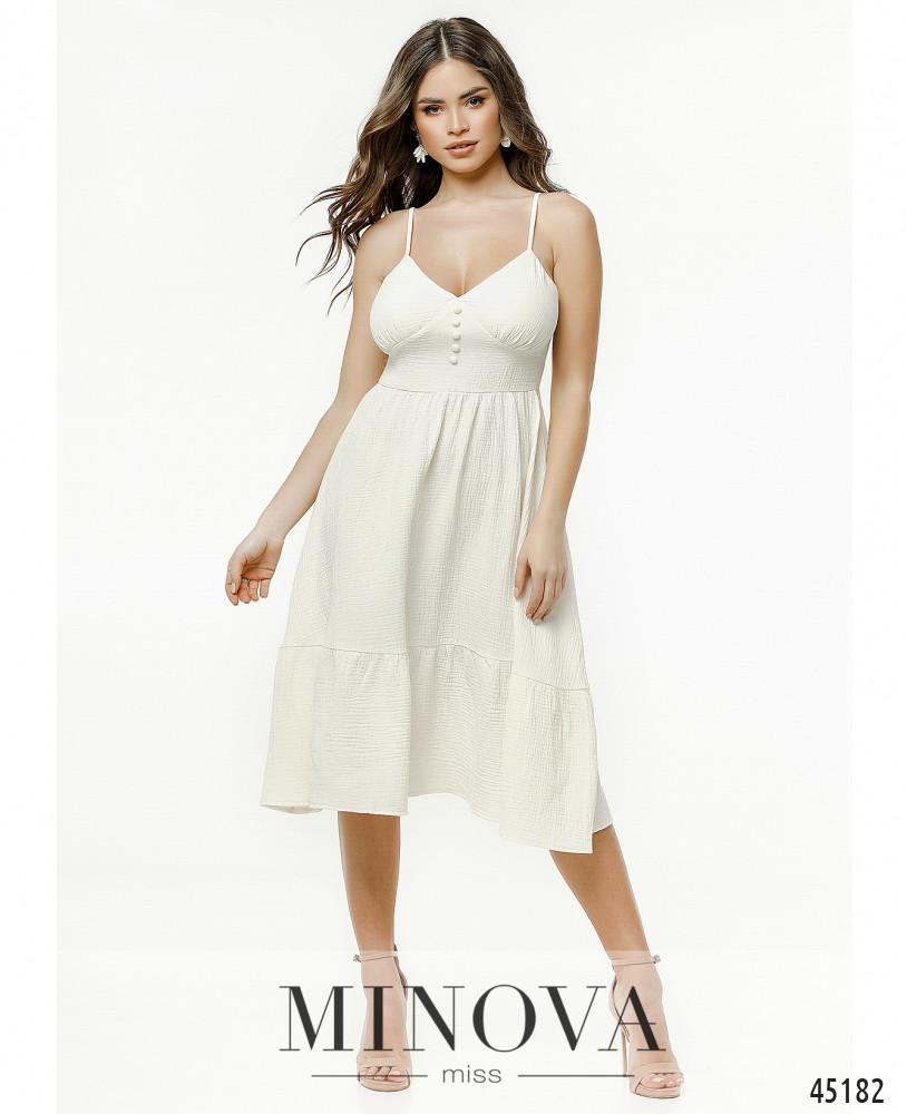 Платье MA2177-молочный (н)