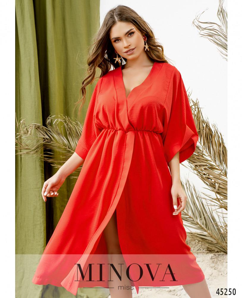 Платье MA823Н-Красный (н)