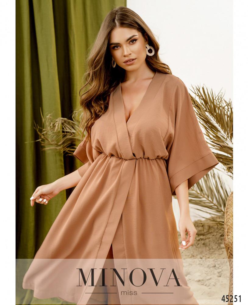 Платье MA823Н-Пудра (н)