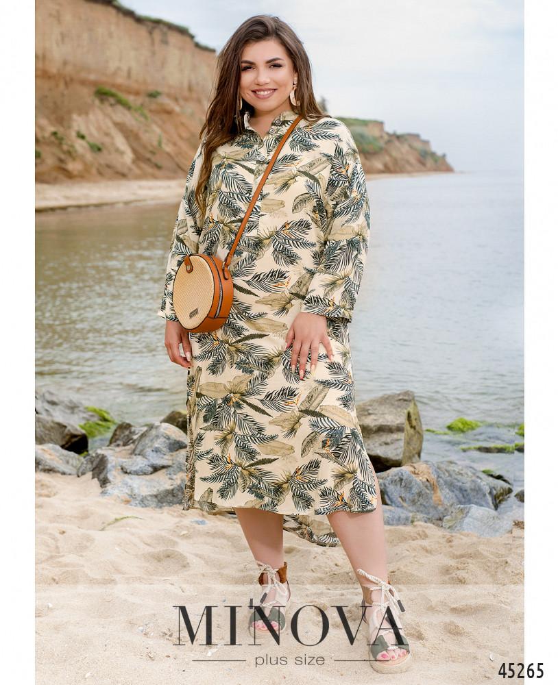 Платье MA1027-бежевый