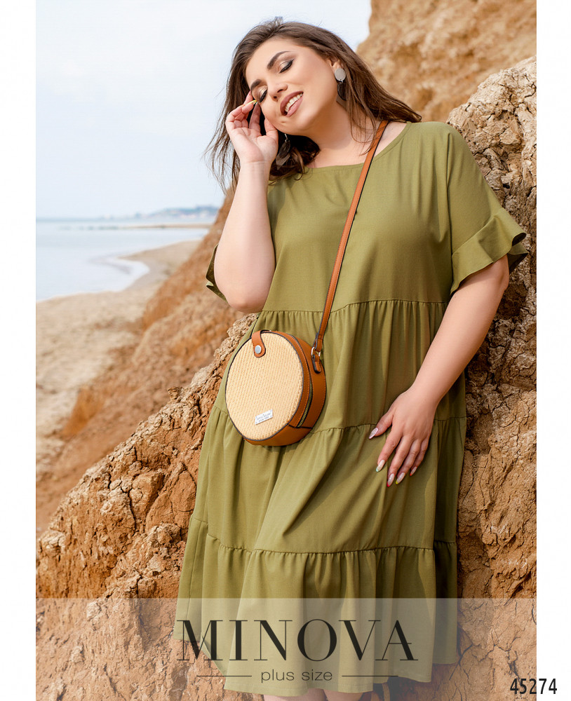 Платье MA991-хаки