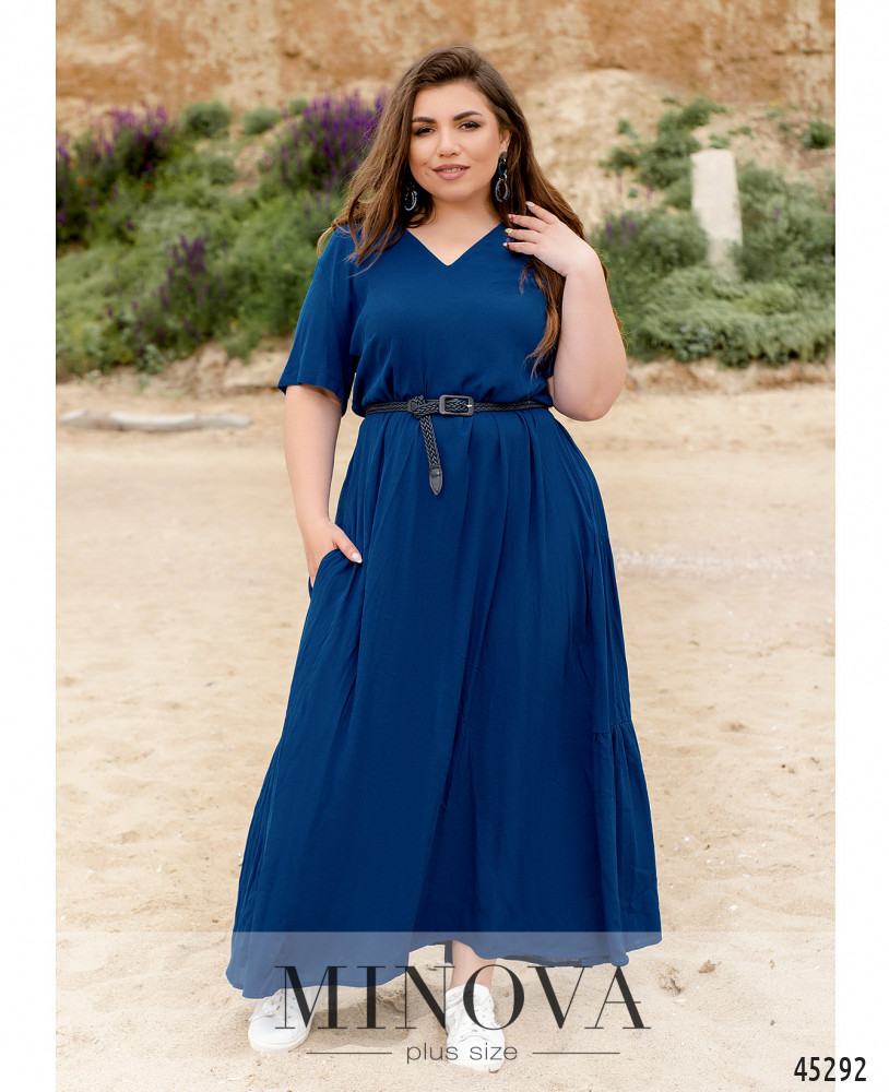 Платье MA194-индиго