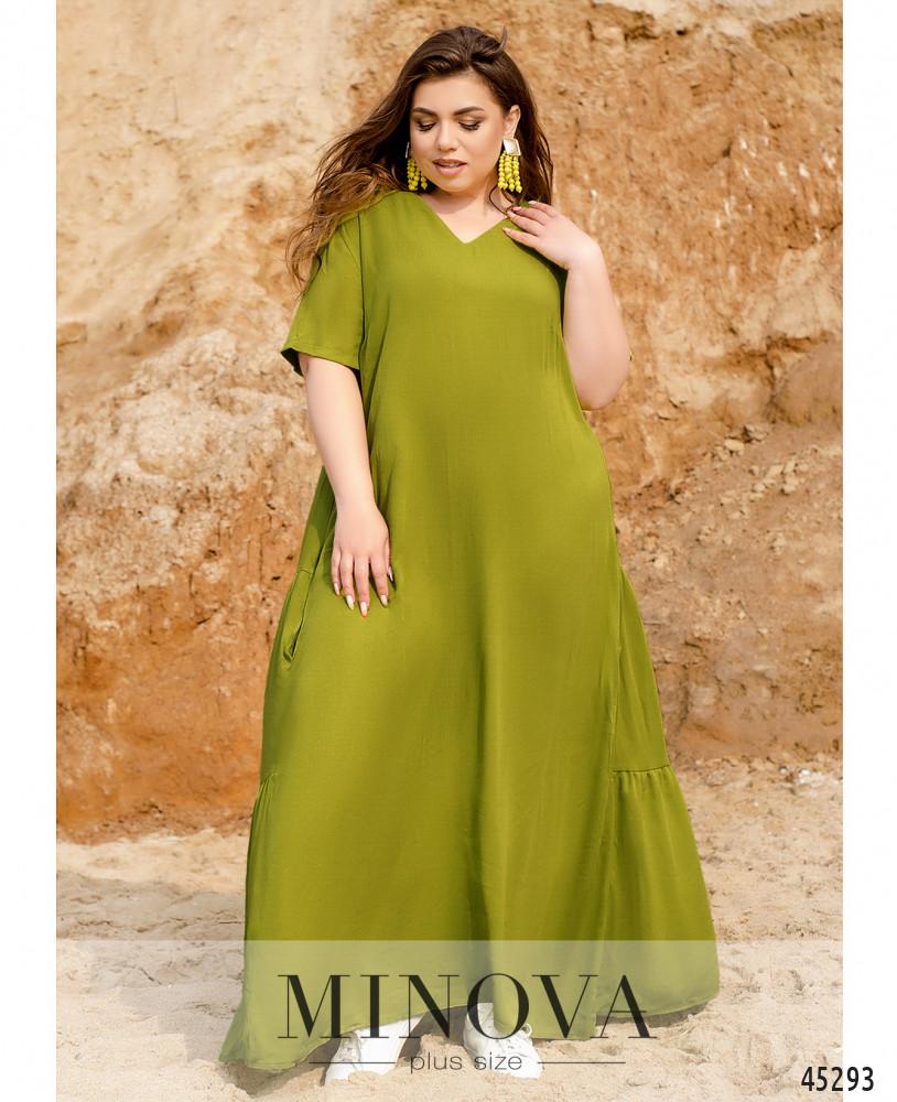 Платье MA194-фисташковый