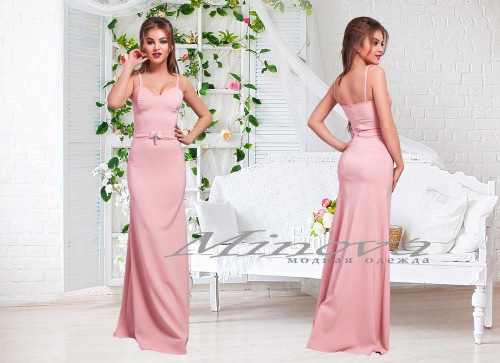 Платье №3067-розовый (sale)