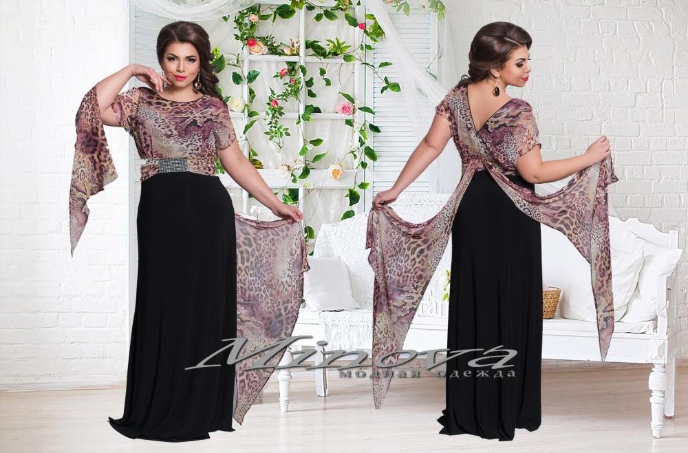 Платье Маринель-черный (sale)