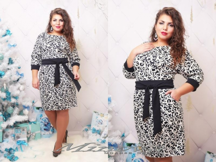 Модные платья 52 54 размер