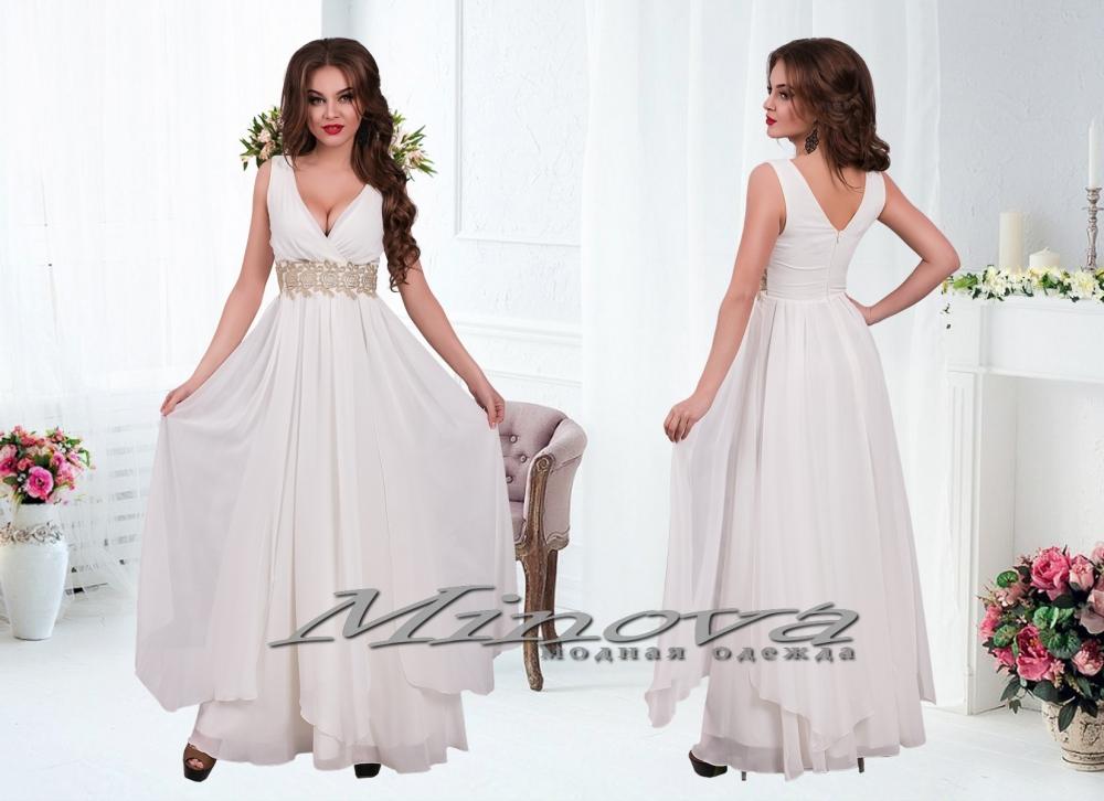 Платье  №15-27-шампань (sale)
