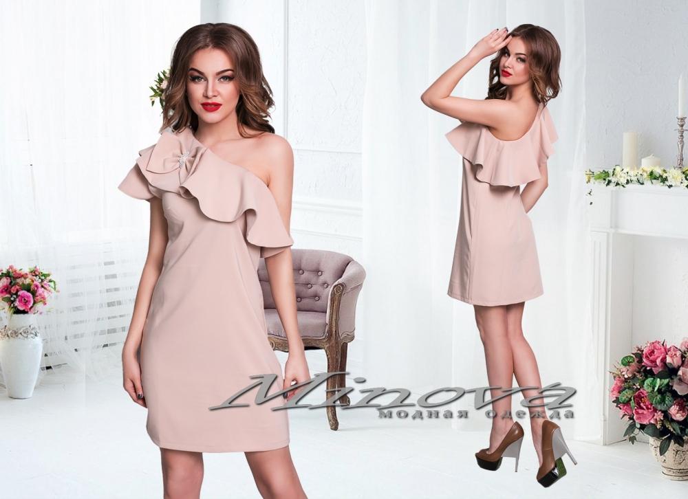 Платье №3071-бежевый (sale)