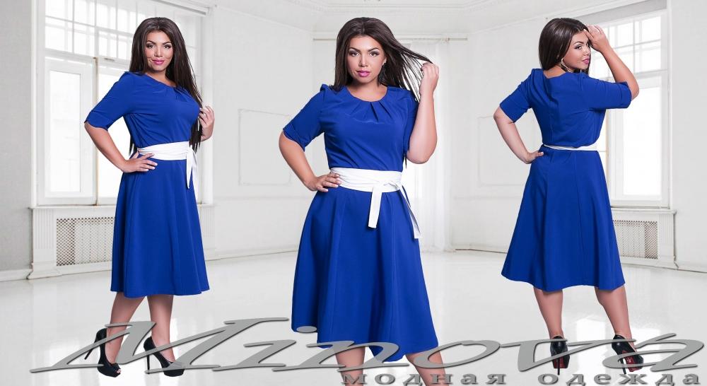 Платье №15-38 Светлана электрик (sale)